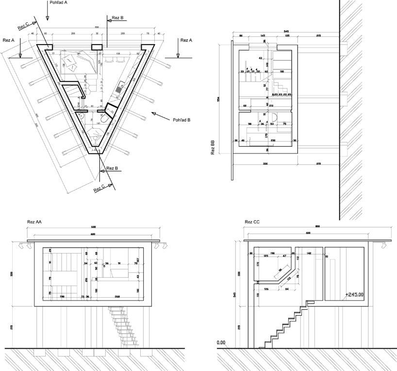 Dise o de casas triangulares para personas sin hogar - Planimetria camera da letto ...