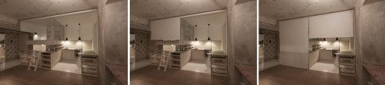 Separar ambientes en apartamento pequeño
