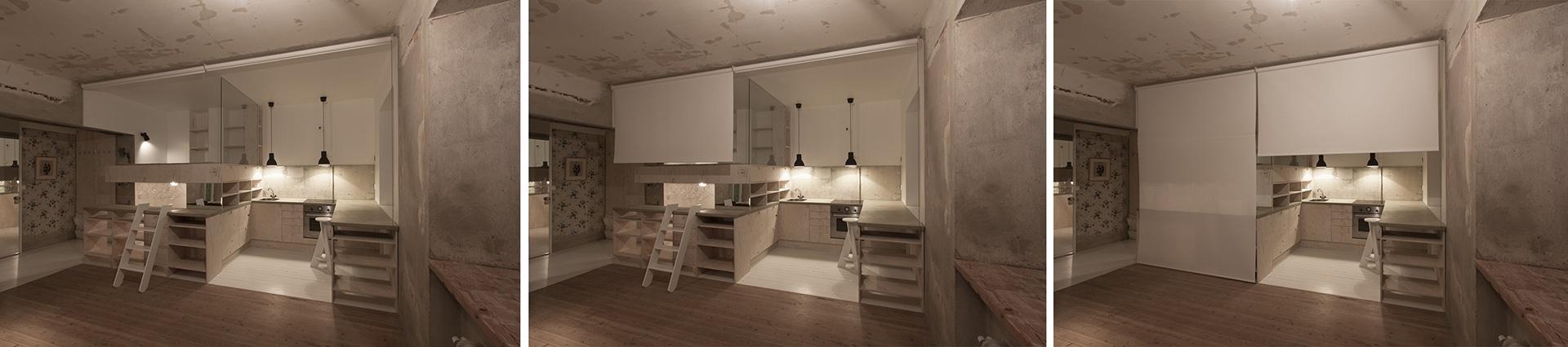 Dise o de planos de apartamento peque o de un dormitorio - Ambientes de dormitorios ...