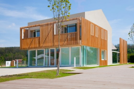 Diseño casa moderna ecológica