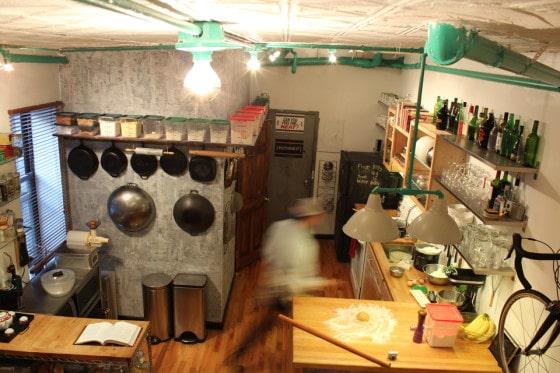 Diseño de cocina comedor apartamento tipo industrial