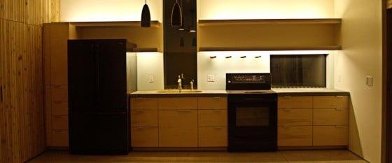 Diseño de cocina lineal