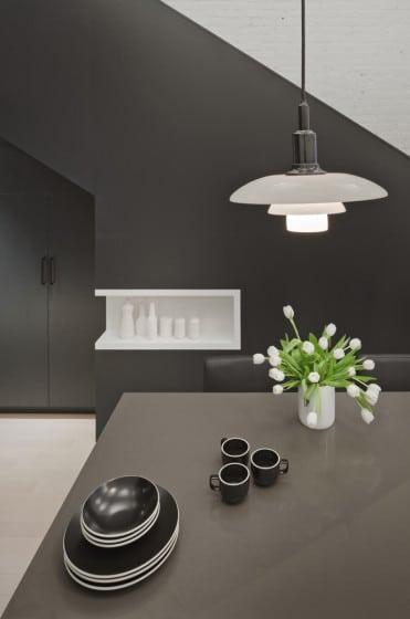 Diseño de comedor moderno