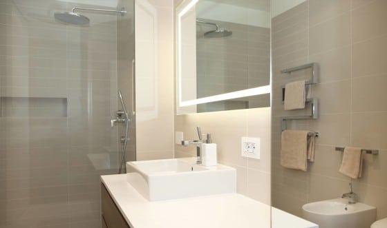 Diseño de cuarto de baño apartamento 2