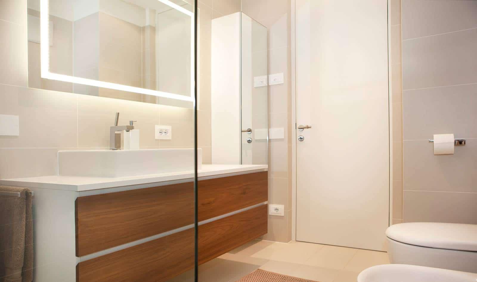 Dise o de planos de apartamento e interior construye hogar - Cuarto de bano de diseno ...