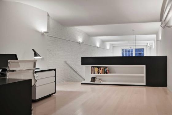 Diseño de dormitorio estudio de apartamento