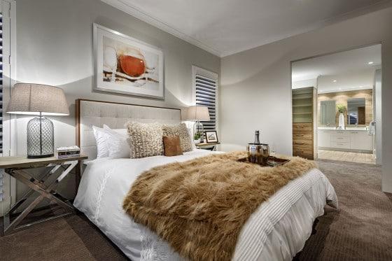 Diseño de dormitorio principal de la casa