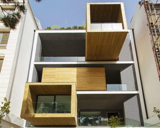 Diseño de modernos apartamentos para todo clima