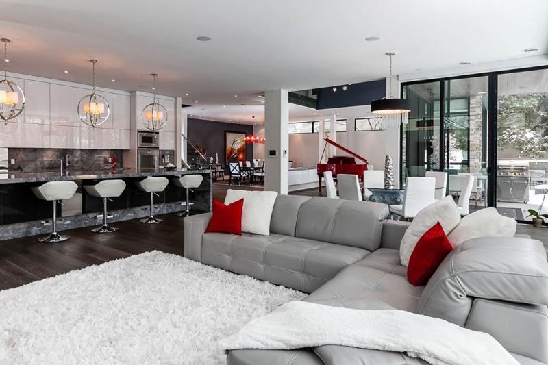 Casa de dos pisos planos y decoraci n construye hogar - Decoracion en cristal interiores ...