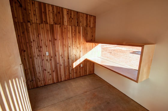 Diseño de ventana para evitar sol