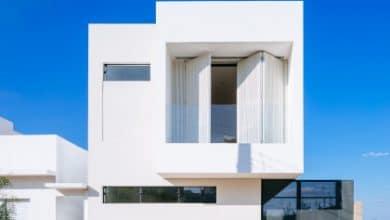 Casa de dos piso sencilla