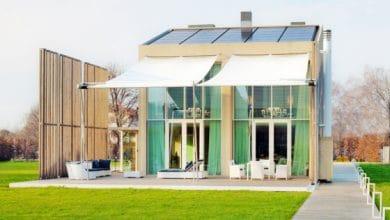 Photo of Diseño de casa ecológica construida con materiales reciclados y se autoabastece con energía solar