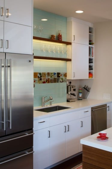 Muebles de cocina blancos
