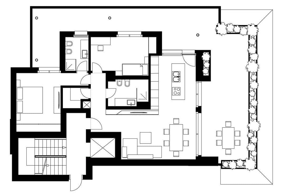 Dise o de planos de apartamento e interior construye hogar for Planos de habitaciones