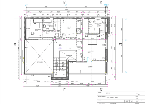 Planos de casa de campo del segundo piso