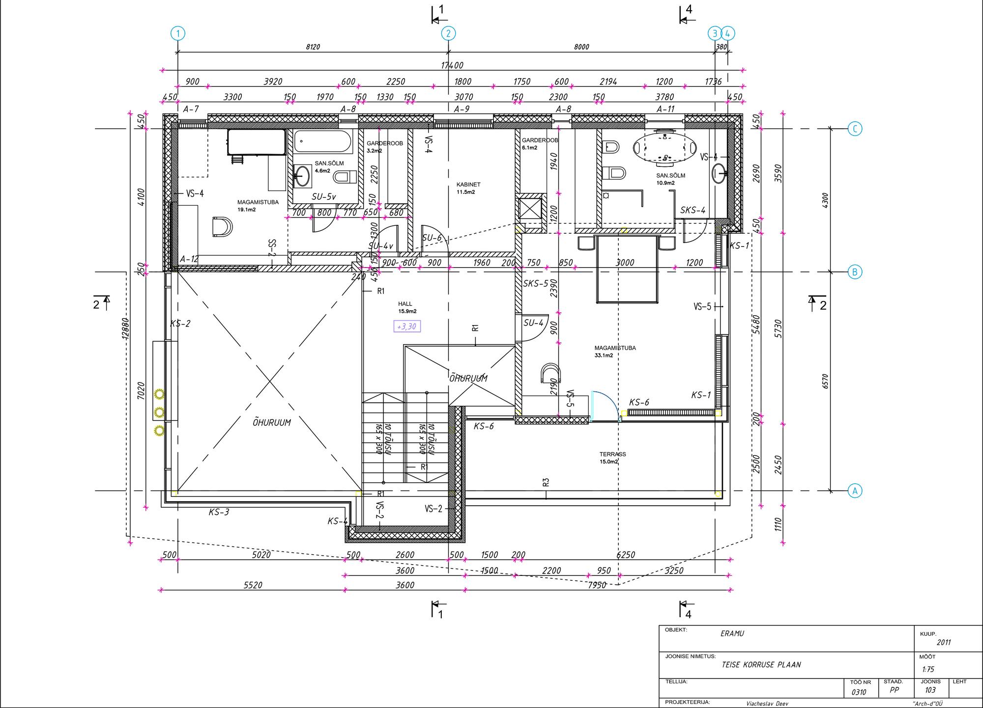 Casa de campo con planos dise o de fachada e interiores for Plano casa campo