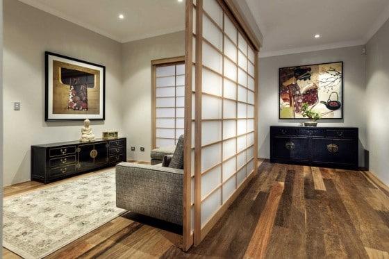 Shoji separador de ambientes estilo japonés