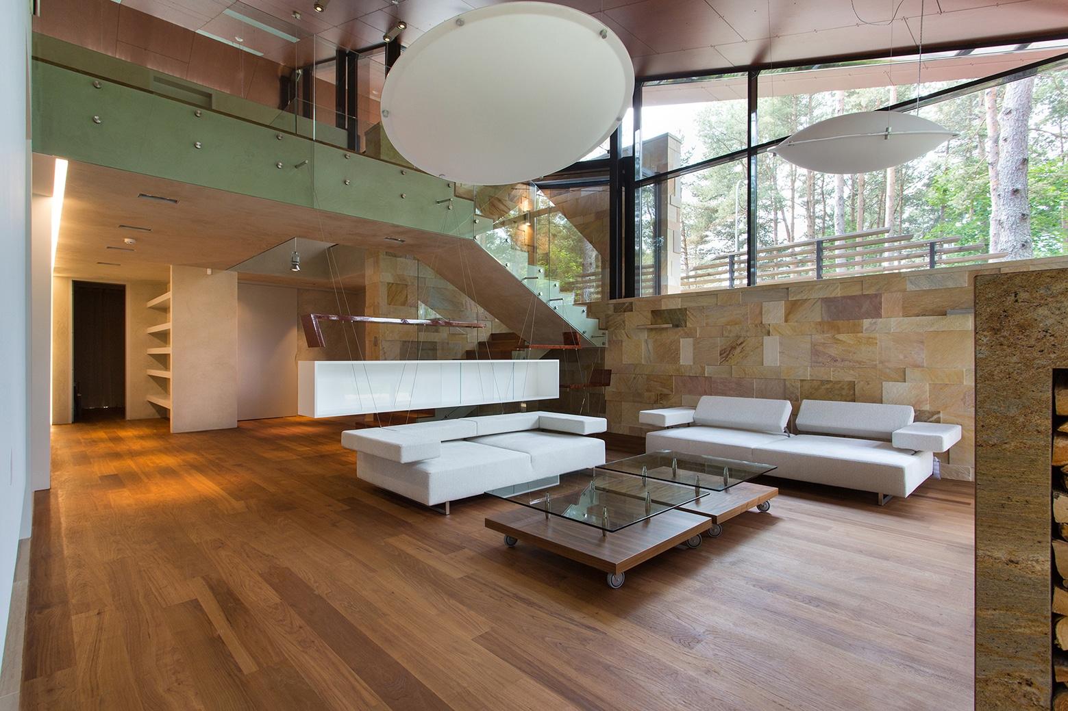 Casa de campo con planos dise o de fachada e interiores for Decoracion construccion