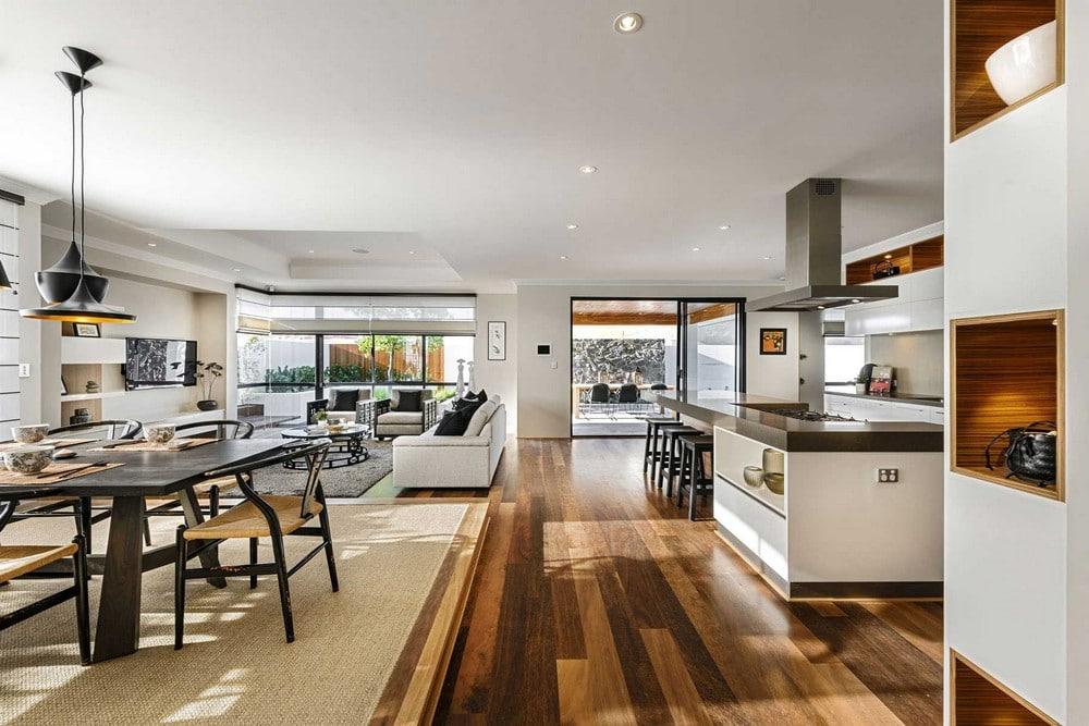 Dise o de casa de un piso estilo oriental con planos for Estilos de apartamentos