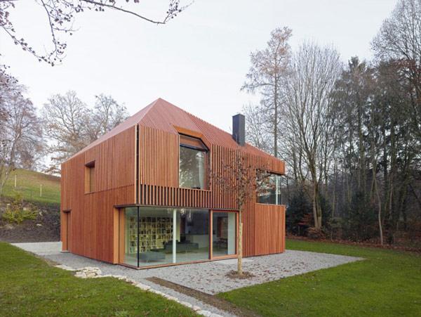Dise o de casa de madera construye hogar - Disenos casas de madera ...