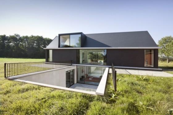 Dise o de casa moderna de una planta - Diseno de casas en linea ...