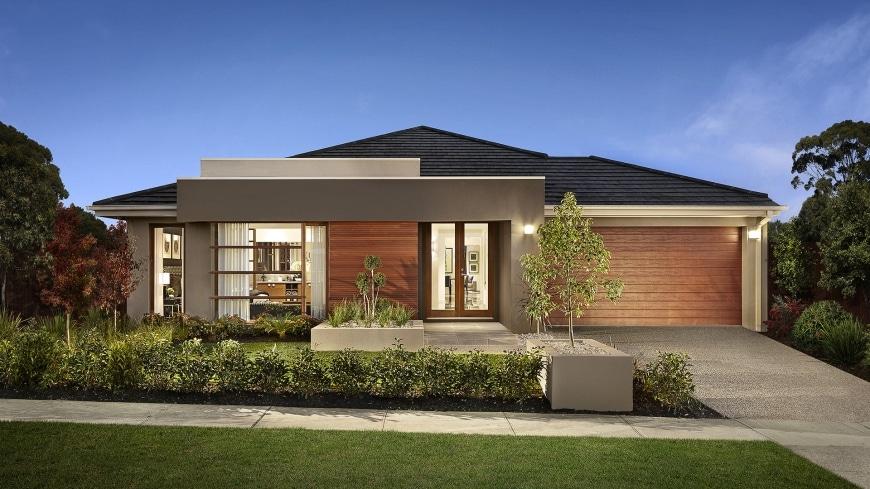 10 dise os de casas de una planta construye hogar for Los mejores techos de casas