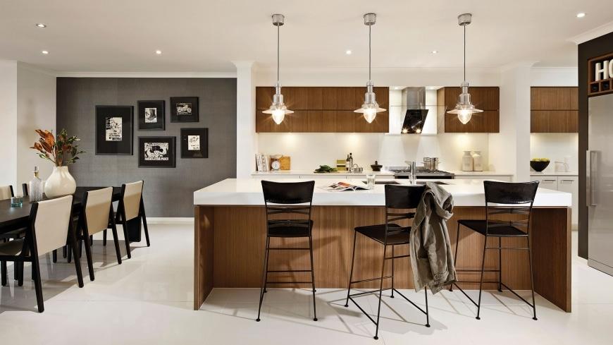 Dise o de casa de una planta con planos y fachadas Decoracion de interiores cocinas