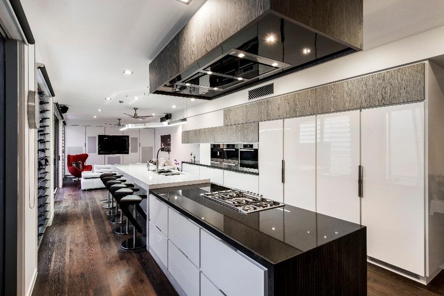 Detalles de dise o de una moderna cocina construye hogar for Diseno cocinas en u