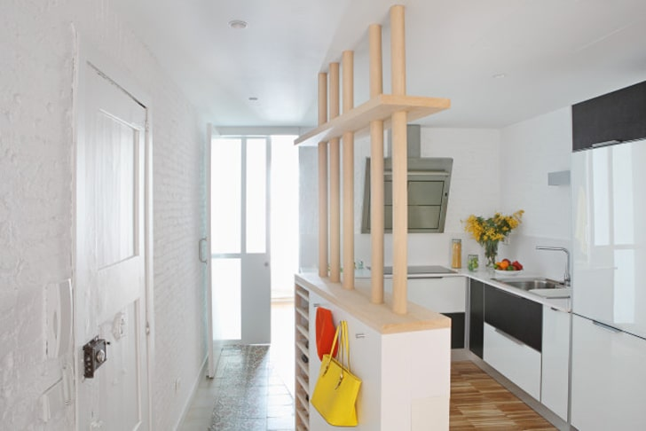 Planos de departamento 2 dormitorios construye hogar for Cocinas pequenas de departamentos