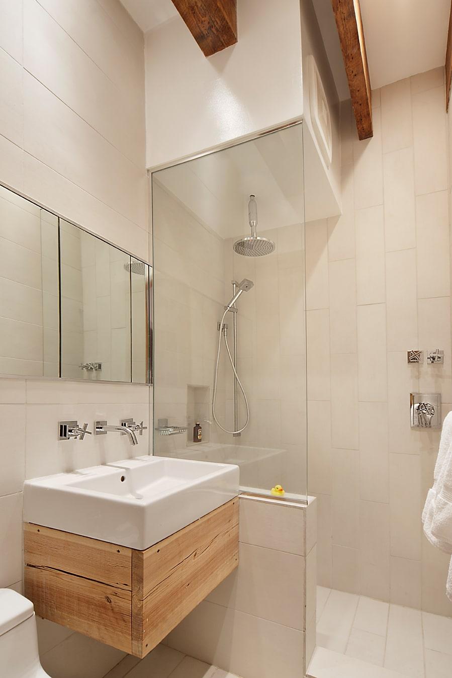 Maravillosa  Hacer Un Cuarto De Bano #1: Diseño-de-cuarto-de-baño-de-departamento1.jpg