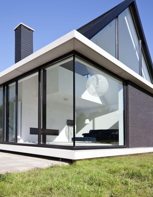 Dise o de casa moderna de una planta construye hogar - Diseno de una casa ...
