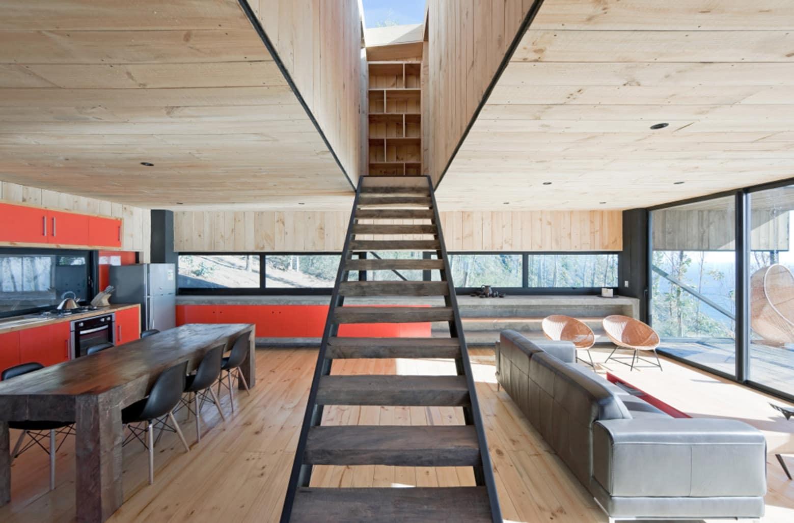 Dise o de casa moderna de dos pisos con planos - Casa en sabadell centro ...