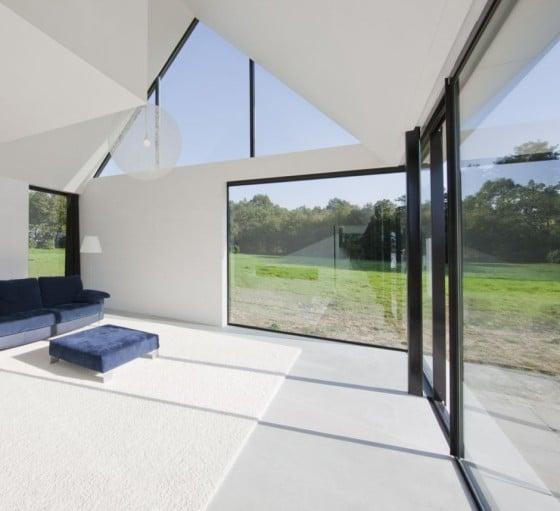 Diseño interior de casa de un piso