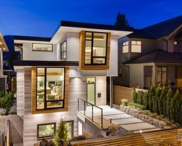 Casas ecol gicas construye hogar for Fachadas modernas para casas de tres pisos
