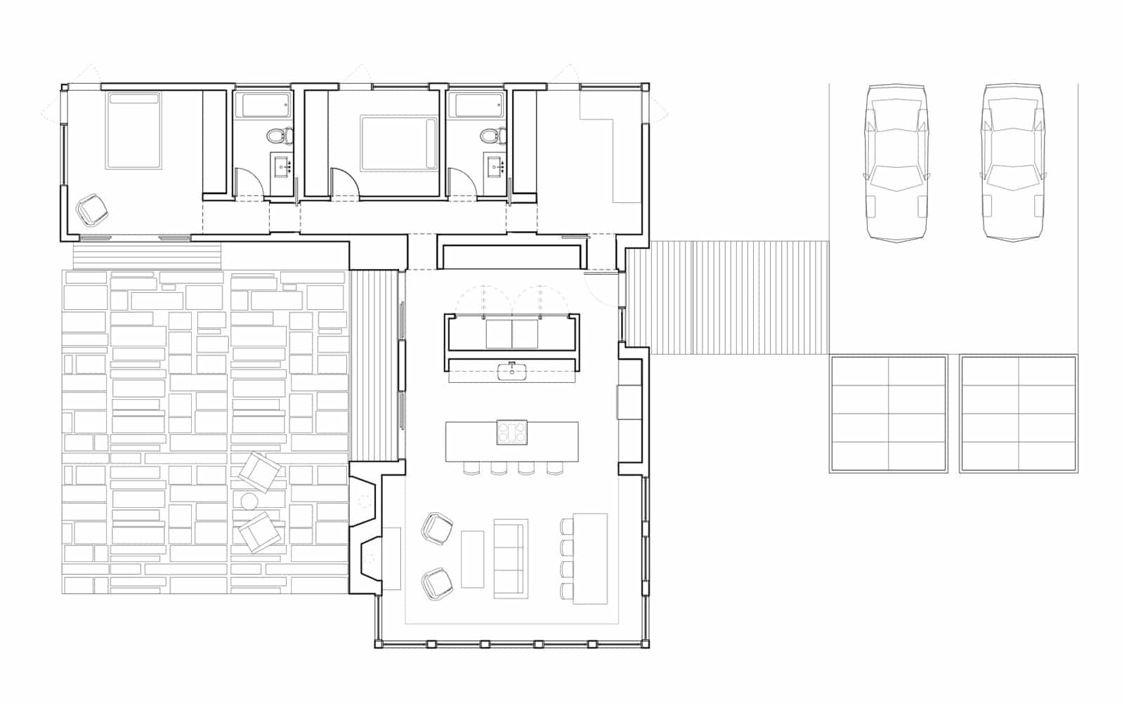 10 dise os de casas de una planta construye hogar - Fotos de casas en forma de l ...