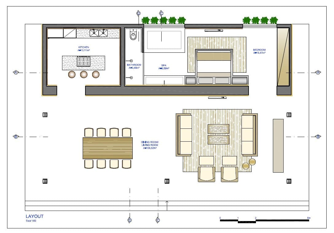 10 dise os de casas de una planta construye hogar for Diseno de oficinas pequenas planos