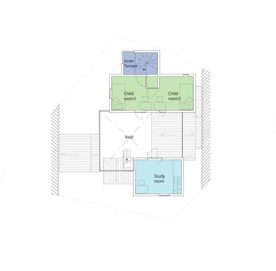 Plano de segundo piso de casa para todo clima