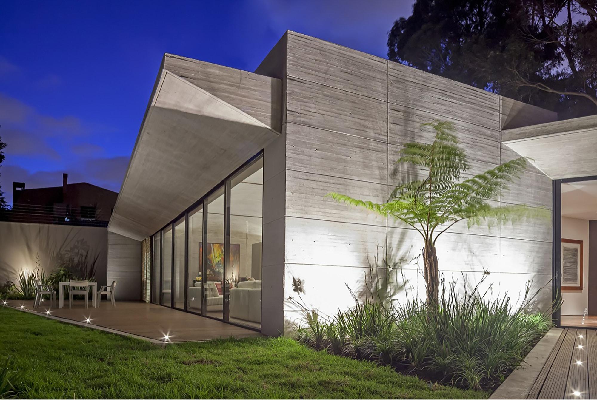 Moderno dise o casa de un piso con planos construye hogar for Construccion casas hormigon