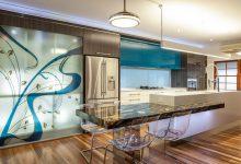 Photo of Diseños de modernas cocinas con islas que parecen flotar, inspírate en la decoración de interiores con estos modelos