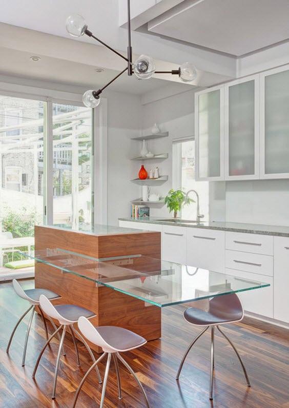 Dise os de modernas cocinas con islas construye hogar for Muebles de cocina americana modernos