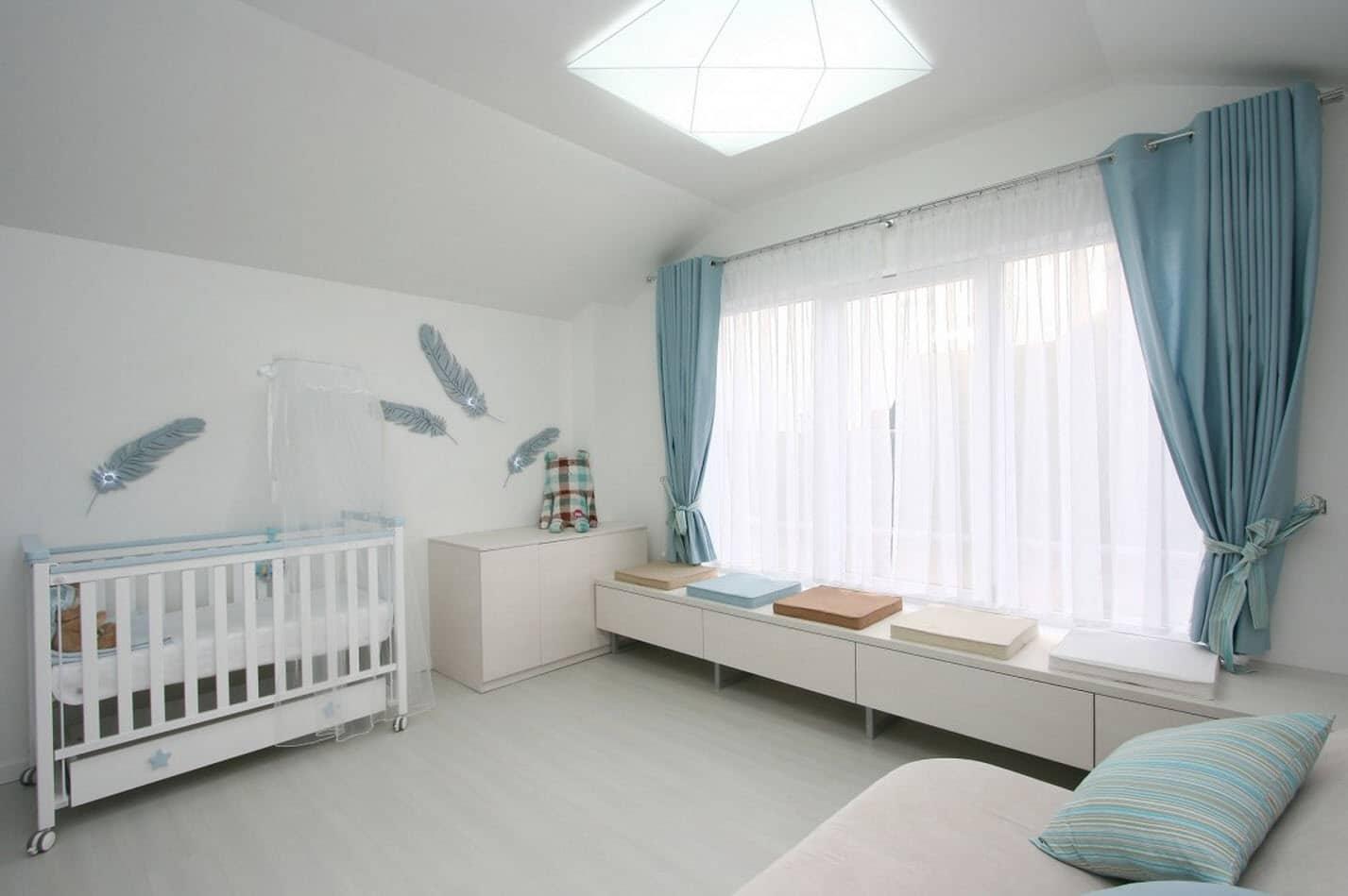 Dise o dormitorio bebe casa dise o for Dormitorio ninos diseno