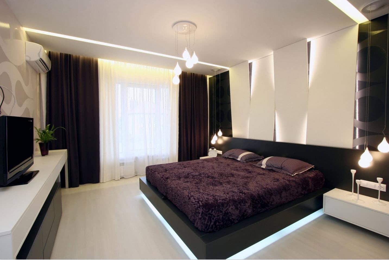 Dise o casa moderna dos plantas y planos construye hogar for Decoracion interior habitacion