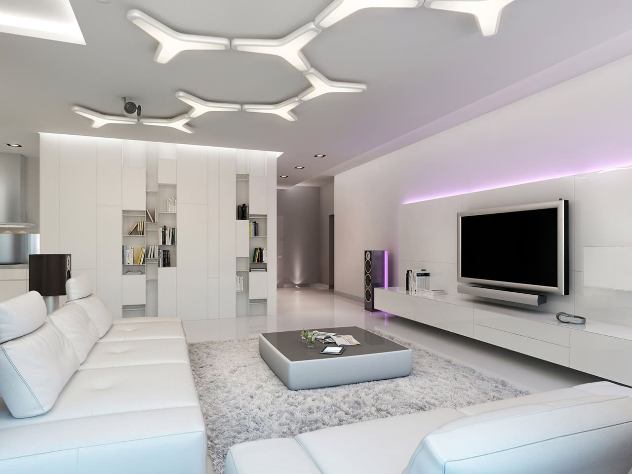 Decoraci n de interiores modernos construye hogar - Ideas decoracion salon moderno ...