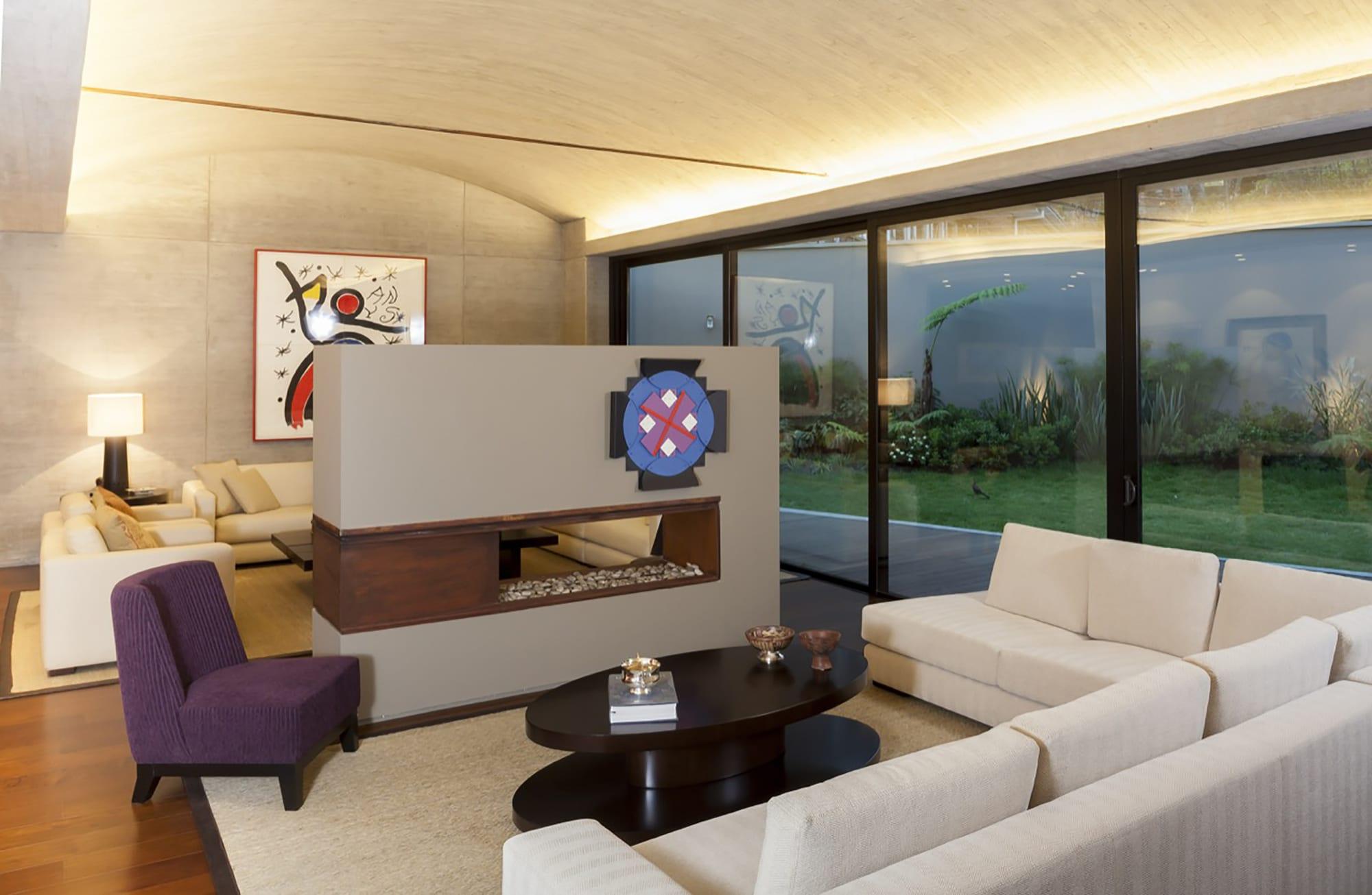 Moderno dise o casa de un piso con planos Interiores de casas modernas 2015