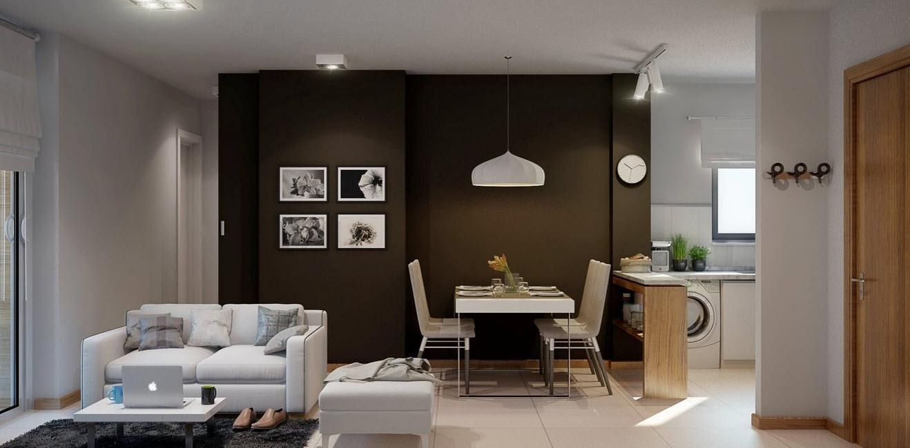 Departamentos peque os c mo hacerlos ver amplios e for Modelos de apartamentos modernos y pequenos