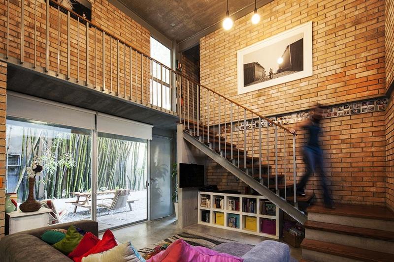 Planos de casa en forma de l dise o construye hogar for Donde ubicar las escaleras en una vivienda