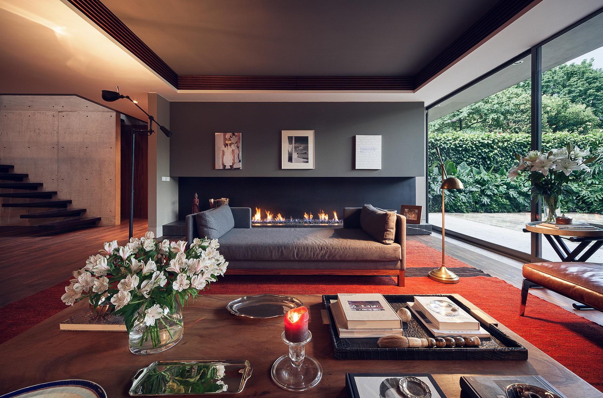 Dise o y planos de casa cuadrada contrucci n construye for Salas de madera modernas