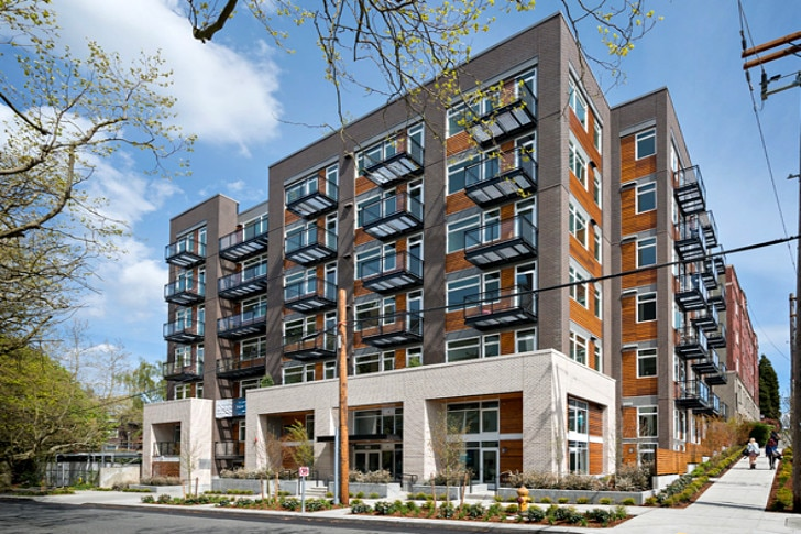 Sustainable Multi Use Building  Apartments