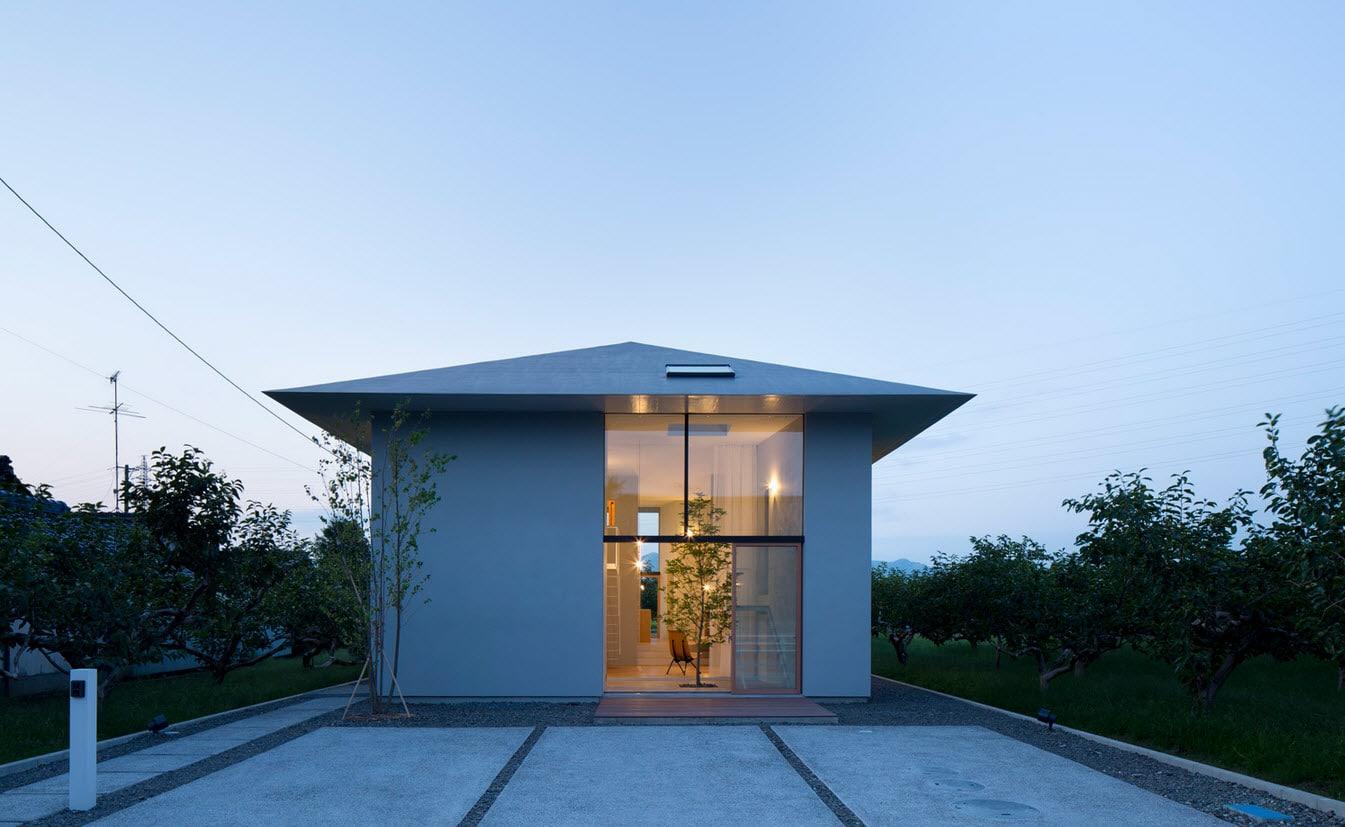 Diseño de casa de un piso estilo oriental  YouTube