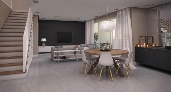 Modelo de apartamento pequeño ampliado